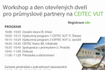 The workshop and open day for industrial partners at the CEITEC BUT<br>